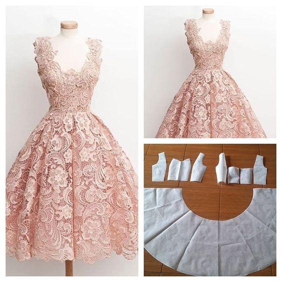Vestidos Corte Princesa Con Patrones Costura Paso A
