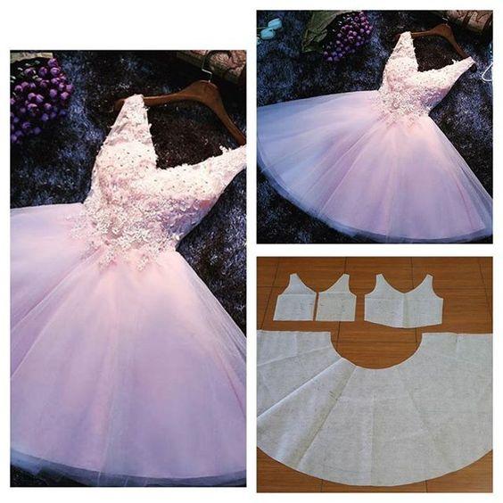 Resultado de imagen para Vestidos corte princesa con patrones