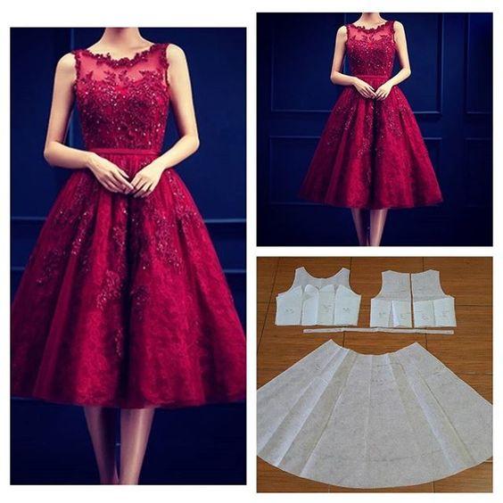 Corte y costura de vestidos